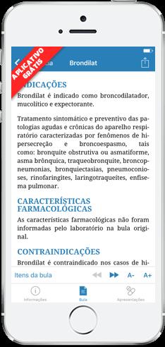 Consulta de bulas e demais informações sobre medicamentos